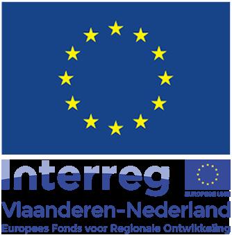 logo EU vlag en interreg Vlaanderen Nederand