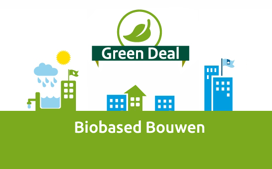 logo green deal biobased bouwen