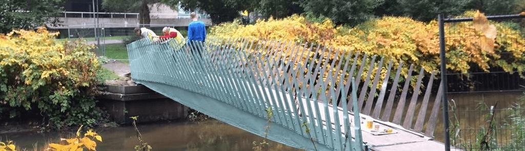 brug van bio-composieten (Avans hogeschool)
