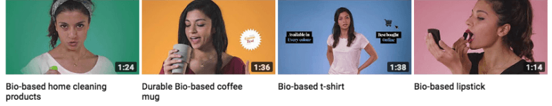 4 screenshots of videos from allthingsbio