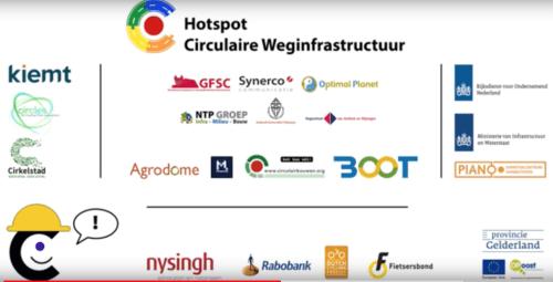 Filmpje over de circulaire bouweconomie
