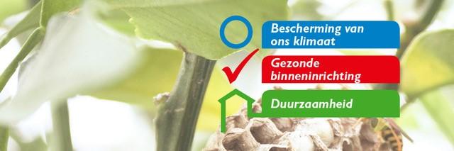 Natureplus is gebaseerd op drie pijlers: klimaat bescherming, gezond wonen & werken en ecologische duurzaamheid.
