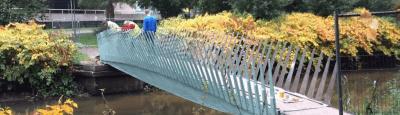 biocomposieten brug in Eindhoven