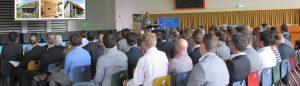 zaal met mensen bij de HAN Arnhem