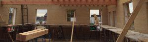 huis gebouwd met hennepblokken