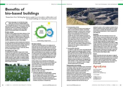 Benefits of bio-based buildings