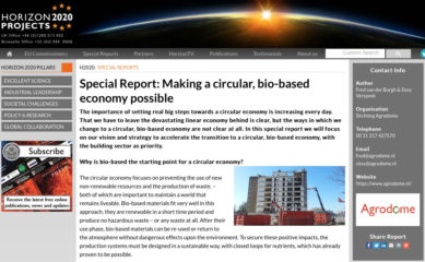HORIZON 2020 special report