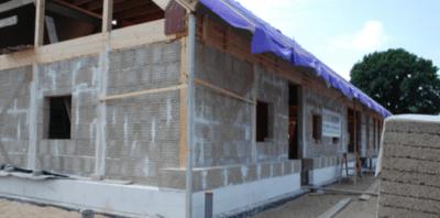 Bouwplaats kalkhennep isobouw