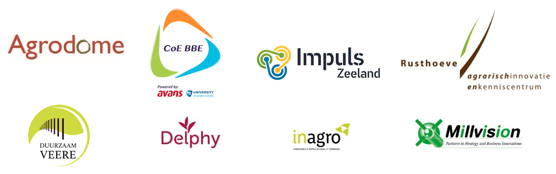 Samenwerkende organisaties van deze inspiratiesessie