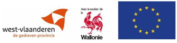 logobanner West vlaanderen , Wallonie, Europese unie