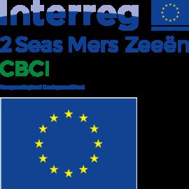 Logo Circular Bio-based Construction Industry (CBCI) met EU logo