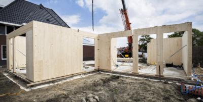 Aannemersvak bouwen met hout en CO2