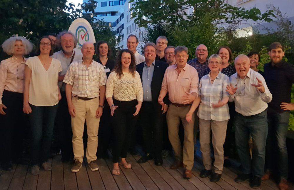 Partners van Natureplus tijdens de bijeenkomst in Wenen