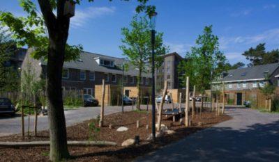 De wijk Kerckebos in Zeist