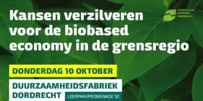 Biobased Economy op 10 oktober in Duurzaamheidsfabriek in Dordrecht