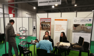 posters of Agrodome and CBCI on SINAL EXHIBIOTION ambassade des Pays bas