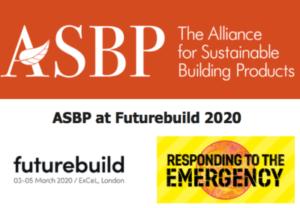 3-5 maart Futurebuild – ASBP in Resourceful Materials zone