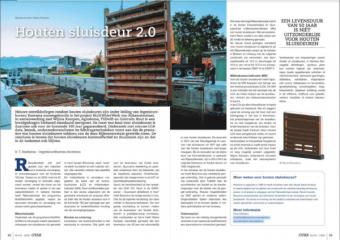 artikel over houten sluisdeur